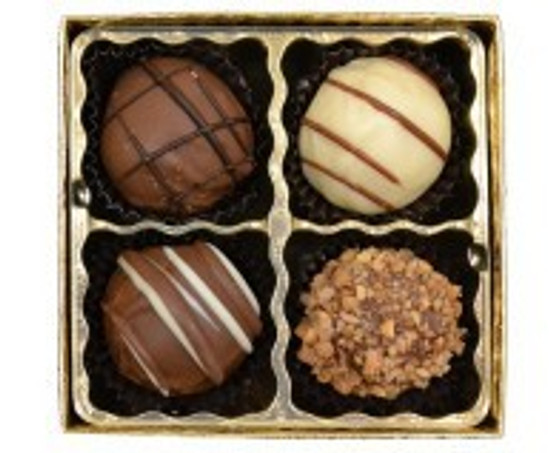 Sweet Sensations Dairy Truffles -4 Piece
