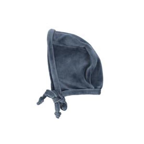 Velour Bonnet Slate