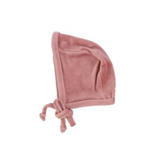 Velour Bonnet Blush