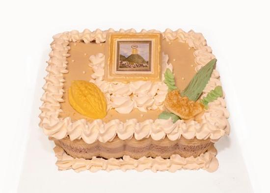 Pareve Cheese Cake Sukkos Decor