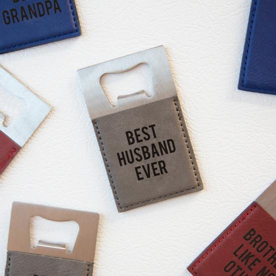 Best Husband Bottle Opener & Magnet