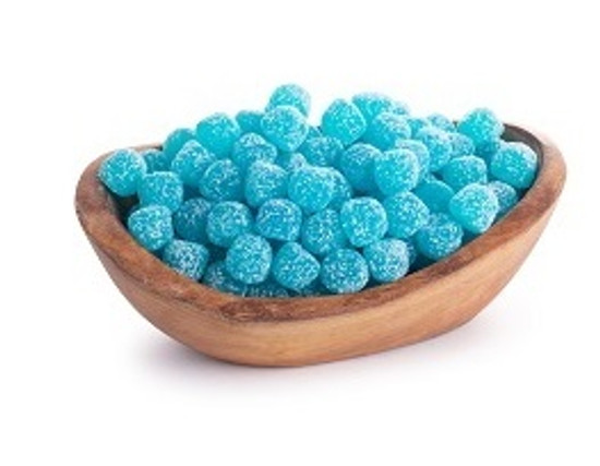 Blue Raspberry Sour Drops