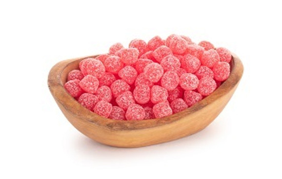 Sour Strawberry Drops