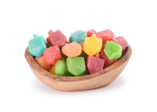 Dreidel Gummies