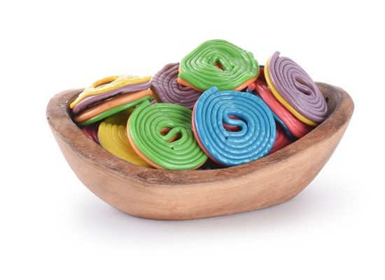 Colorful Licorice Wheels