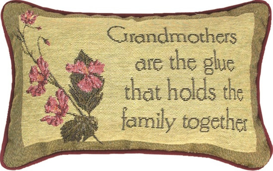 Pillow Grandmothers are the Glue