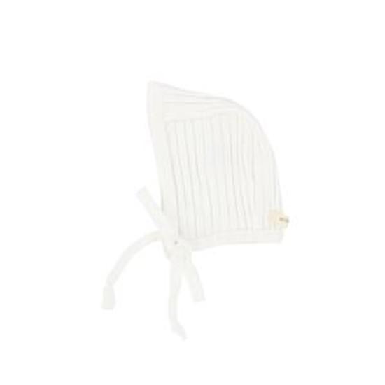 Lil Leggs White Bonnet