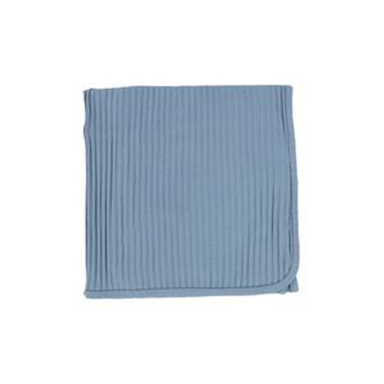 Lil Leggs Wide Ribbed Blanket Blue