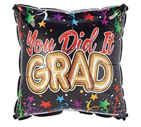 """Helium Graduation Balloon -18"""""""