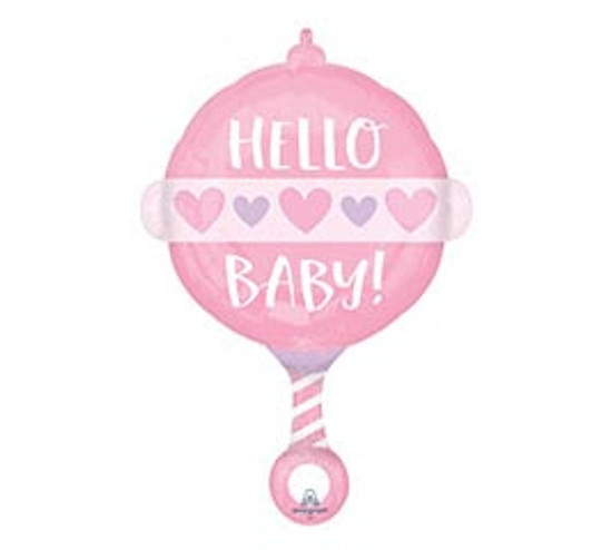 """Helium It's A Girl Balloon Large -23"""""""