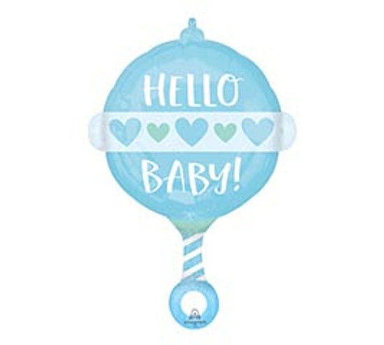 "Helium It's A Boy Balloon Large- 23"""