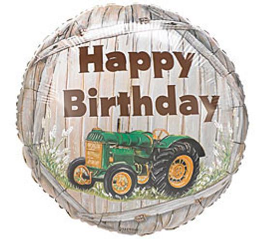 "Helium Birthday Balloon Boy- 18"""