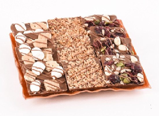 "Dairy bark Tray-6"" Square"
