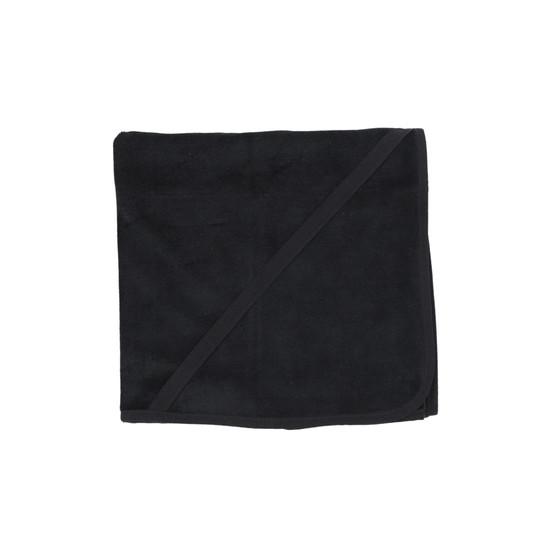 Black Velour Blanket
