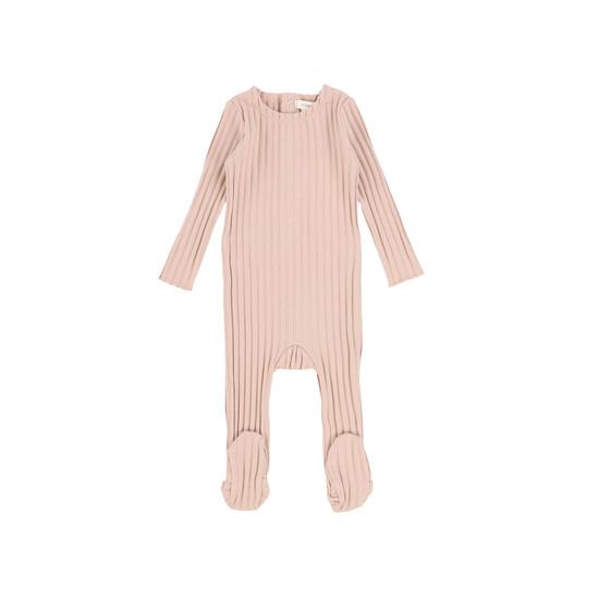 Lil Legs Footie Baby Pink