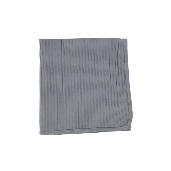 Lil Legs Blanket Muted Blue