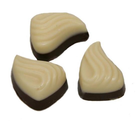 Two - Tones Leaf Chocolate Truffles