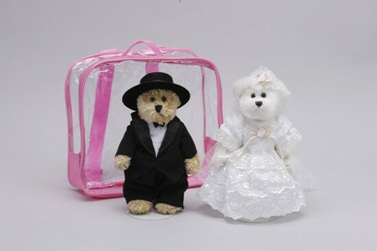 Teddy Bears - Bride And Groom