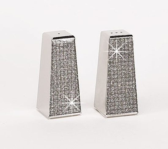 Glitter Salt And Pepper Shakers