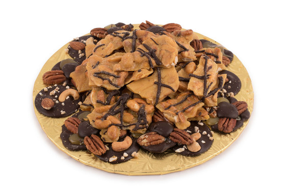 "Nut Brittle Platter Small  9"""