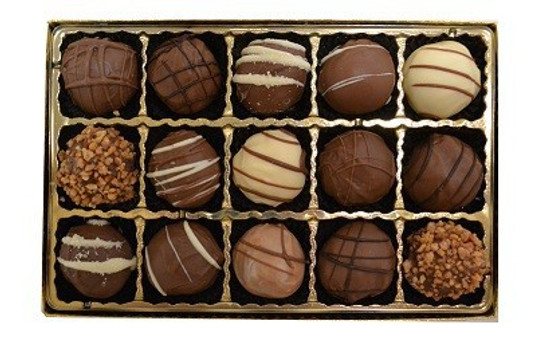 Sweet Sensations Dairy Truffles -15 Piece