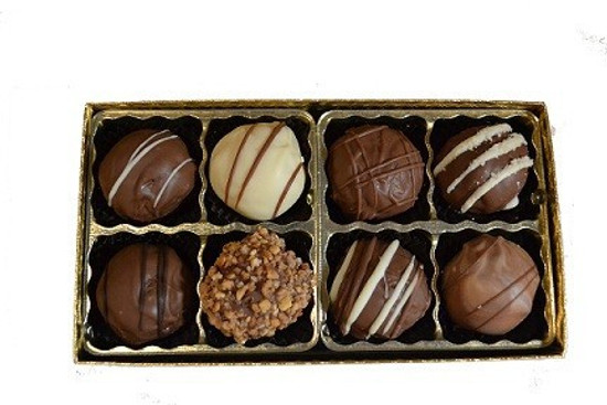Sweet Sensations Dairy Truffles -8 Piece