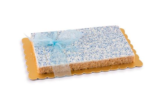 Peanut Chew Platter blue- 40 Piece