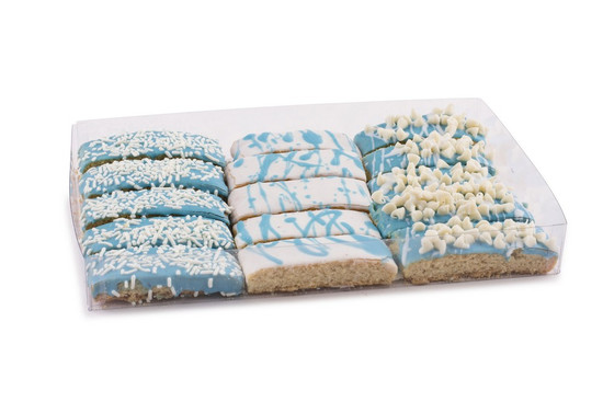 Blue Biscotti -15 Piece