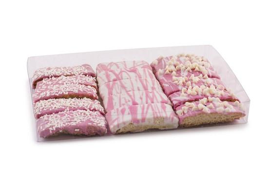 Pink  Biscotti -15 Piece
