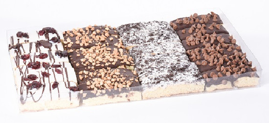 Chocolate Covered Biscotti Tray -24 Piece