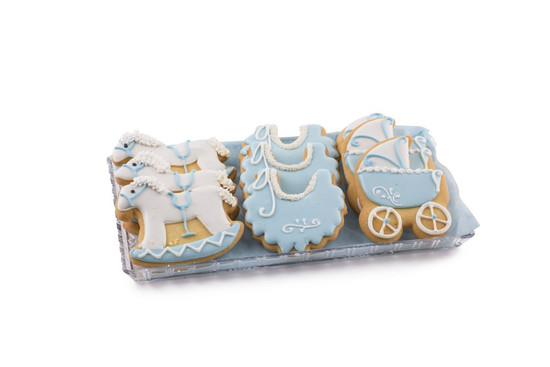 Royal Icing Cookies Blue