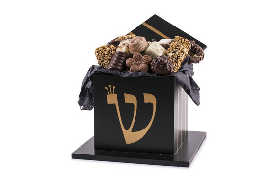 Bar Mitzva Tefillin Box With Truffles