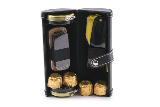 Shoe Shine Kit With Truffles