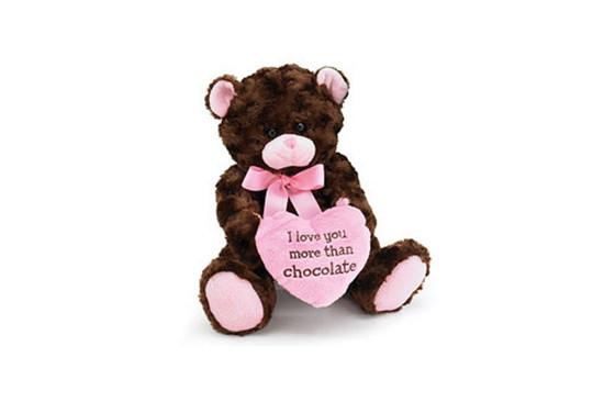 I Love You More Than Chocolate Bear