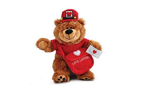"""Love Letters Teddy Bear-17"""""""