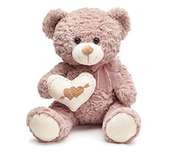 Light Brown Heart Bear