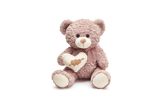 Light Brown Heart Bear