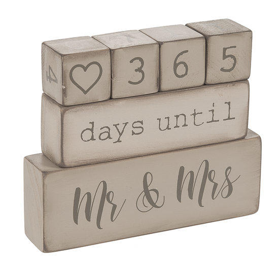 Wedding Countdown Blocks