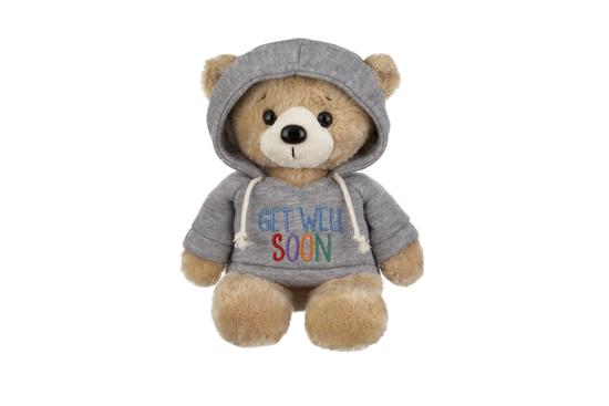 """Get Well Soon Hoodie Bear-10"""""""