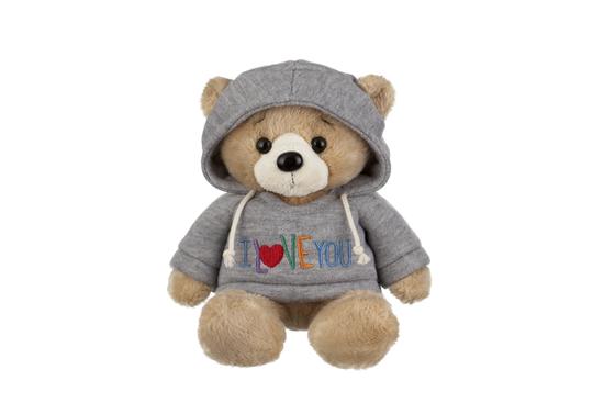 "I love you Hoodie Teddy Bear-10"""