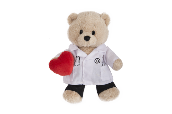 Doctor Teddy Bear-7""