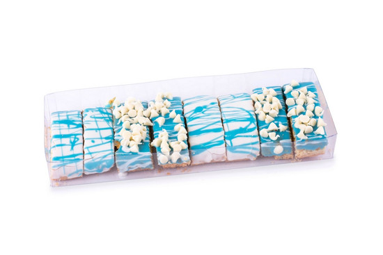 Blue Biscotti -8 Piece
