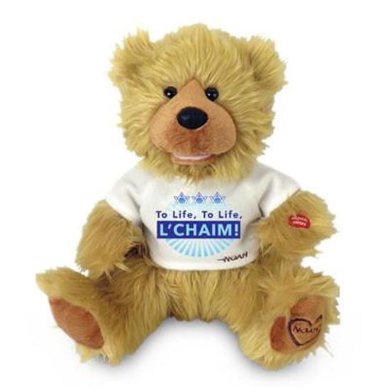 """Singing """"L'Chaim To LIfe""""  Bear"""