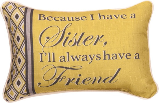 Pillow Sister/ Friend