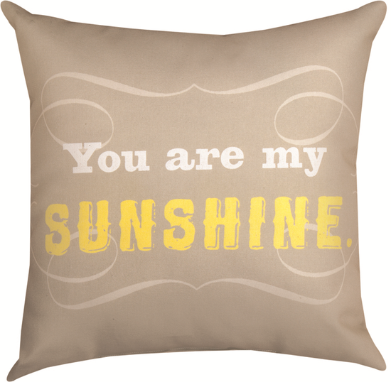 Pillow You are my  Sunshine- Large