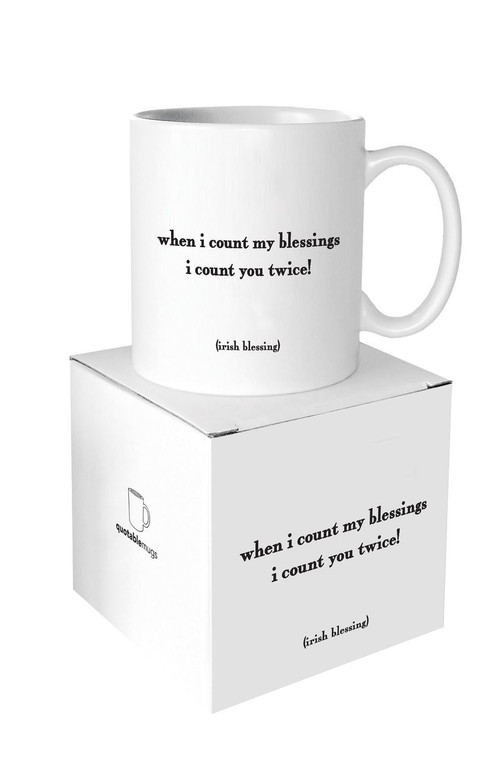 Mug- When I Count My Blessings
