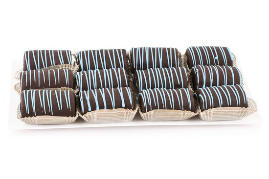 Chocolate Covered Yodel Platter- Blue-12 Piece
