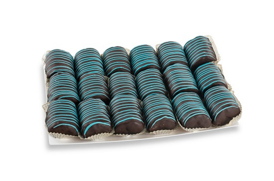 Chocolate Covered Yodel Platter- Blue-18 Piece