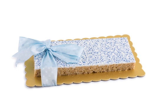 Peanut Chew Platter Blue -30 Piece