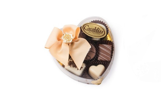 Cocobliss Heart of Dairy Belgian Truffles-Small